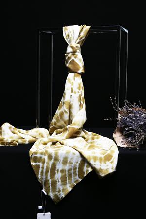 雙縐女士長巾 220cm 年輪